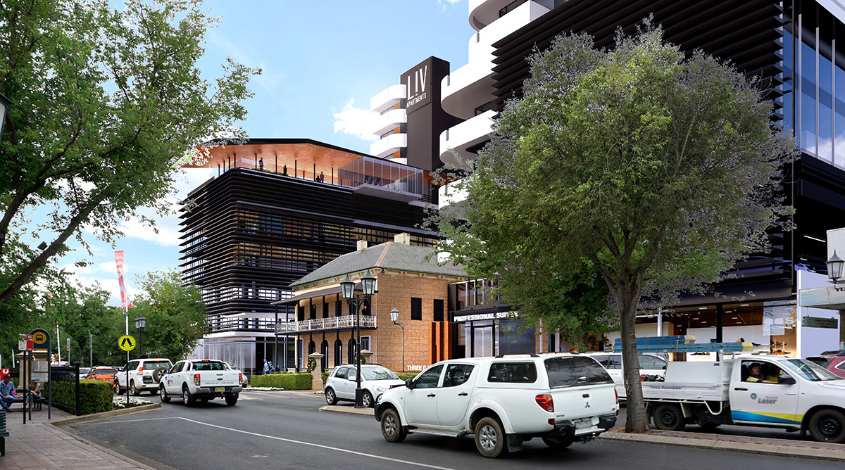Maas Group Properties awarded JRPP approval for major mixed-use development in the main street of Dubbo.