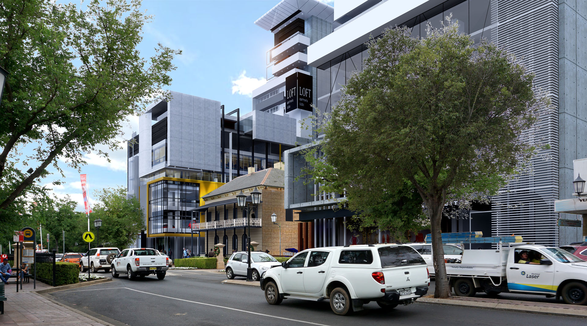 Maas Group Family Properties submit DA for major mixed-use development in the main street of Dubbo.